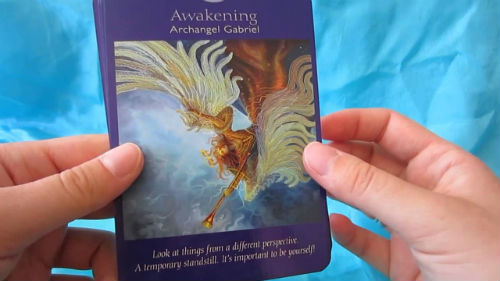 reading of angels tarot cards